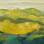 Bergwelt 10,   33x46,   Öl auf Leinwand,   2016