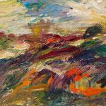 Bergwelt 2,   33x46,   Öl auf Leinwand,   2016