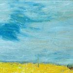 """""""Leichtigkeit"""", 2017, 20x25, Öl auf Leinwand auf MDF"""