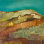 Bergwelt 9,   33x46,   Öl auf Leinwand,   2016