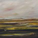 Dünen,   33x46,   Öl auf Leinwand,   2017