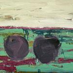Äpfel,     80x100,     Öl auf Leinwand, 2007
