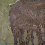 Kuh I,     30x40,     Öl auf Leinwand, 2007