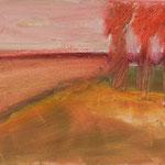 Sommer,     27x46,      Öl auf Leinwand, 2007