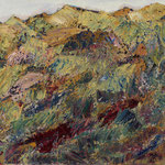 """Landschaft"", 2020, 48x59, Öl auf Leinwand"