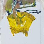 """""""Seated 3"""", 2018, 30x24, Öl auf Leinwand"""