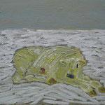 Kalb II,     60x73,     Öl auf Leinwand, 2008