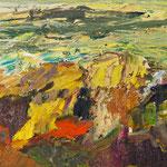 Bergwelt 4,   56x54,   Öl auf Leinwand,   2016