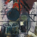 Töne,     54x71,     Öl auf Leinwand, 1995