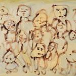 """""""The Gang #2"""", 2020, 50x70, Öl auf Leinwand"""