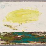 Kleine Landschaft 1,     22x26,     Öl auf Hartfaser, 2016
