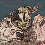 Trio I,     80x100,     Öl auf Leinwand, 2013