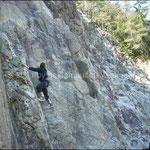 Eine von uns klettert in der Eiger Nordwand!