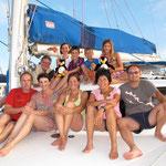 Familienurlaub in Kroatien auf dem Katamaran PINK PENGUIN
