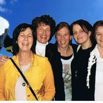 25-jähriges Reico Jubiläum in Fulda: Anke Gomm - Clarissa Schallner - Stefanie Hegmann - Vanessa Strangmeyer - Marion Wild - Kerstin Stolz