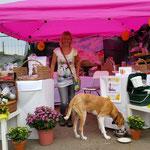 Bocholt: Stefanie Hegmann auf dem Herbstmarkt - Herzlichen Glückwunsch -
