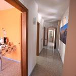 Corridoio appartamento 6 posti