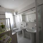 Bagno appartamento 6 posti