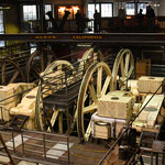 Maschinenhalle der Cable Cars
