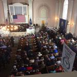 Wahlkampfveranstaltung zu den Wahlen 2020, Auftritt der demokratischen Senatorin Kamala Harris aus Kalifornien