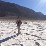 auf dem Salzsee
