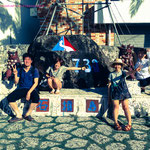 まずは石垣島で記念写真