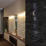 Verkaufswand Brillen