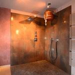 Duschbereich vor der Sauna