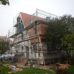 Foto aus der Bauphase