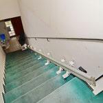Treppenabgang vor Umbau