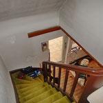 Treppenhaus vor der Sanierung