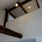 Deckenöffnung im Treppenbereich