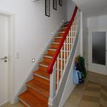 Treppe nach Sanierung