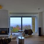 Blick aus dem Wohnzimmer auf Göttingen