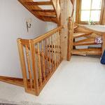 Das Treppenhaus vor der Renovierung
