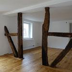 Wanddurchbrüche mit freiliegendem Fachwerk