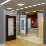 Ausstellung Zimmertüren