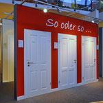 Ausstellung Innentüren