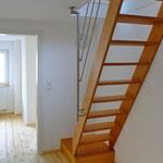 Die Treppe zum Dachboden