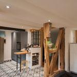 Blick von der Küche Richtung Flur/Bad