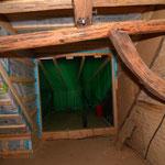 Dachdämmung Fertig, Ausgang zur Dachterrasse