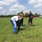 """Landegelände """"Ausbildung AFF"""" mit Sprungschüler"""