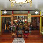元日蓮宗のお寺がチベット仏教の飾りつけになりました