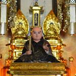 ハワイヒロ教会を守られている日蓮聖人