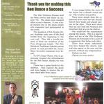 年に4回発行の ニュースレター オハナタイムス(オハナはハワイ語で家族)