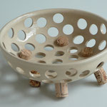Keramikschale zum Spicken mit Korken