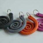 Taschenpeitsche: Schlüsselanhänger aus Poyurethen
