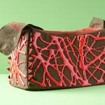 Hinguckerbeutel klein: Baumwollstoff mit geschäumter Polyurethanbeschichtung