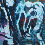 Mondbär, 50 x 40 cm