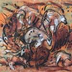 Mysterium, 70 x 80 cm
